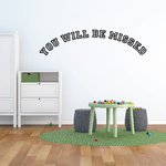 You Will be Missed In Loving Memory Wall Decal - Vinyl Decal - Car Decal - DC013