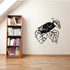 Fly on Branch Decal