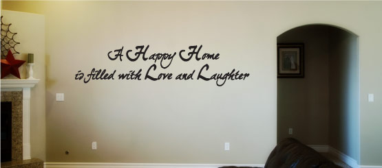 House Quote Decals