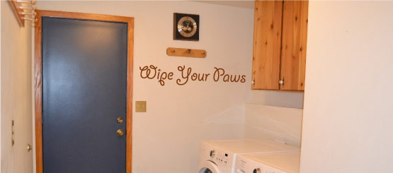 Mud Room Quote Decals