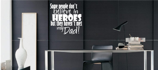 Parent Quote Decals
