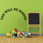 You Will be Missed In Loving Memory Wall Decal - Vinyl Decal - Car Decal - DC024