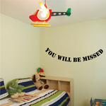 You Will be Missed In Loving Memory Wall Decal - Vinyl Decal - Car Decal - DC036