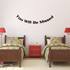 You Will be Missed In Loving Memory Wall Decal - Vinyl Decal - Car Decal - DC038