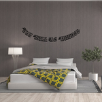 You Will be Missed In Loving Memory Wall Decal - Vinyl Decal - Car Decal - DC039