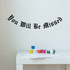 You Will be Missed In Loving Memory Wall Decal - Vinyl Decal - Car Decal - DC043