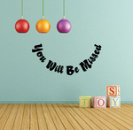 You Will be Missed In Loving Memory Wall Decal - Vinyl Decal - Car Decal - DC044
