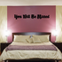 You Will be Missed In Loving Memory Wall Decal - Vinyl Decal - Car Decal - DC055