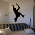 Long Jump Track and Field Decal