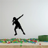 Female Shot Put Throw Decal