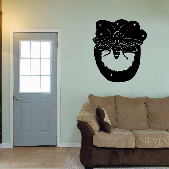 Detailed Fly Decal