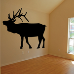 Majestic Elk Standing Decal