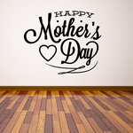Happy Mothers Day Script Decal