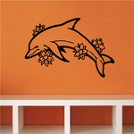Dolphins Wall Decal - Vinyl Decal - Car Decal - DC005