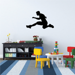 Track and Field Wall Decal - Vinyl Decal - Car Decal - 001