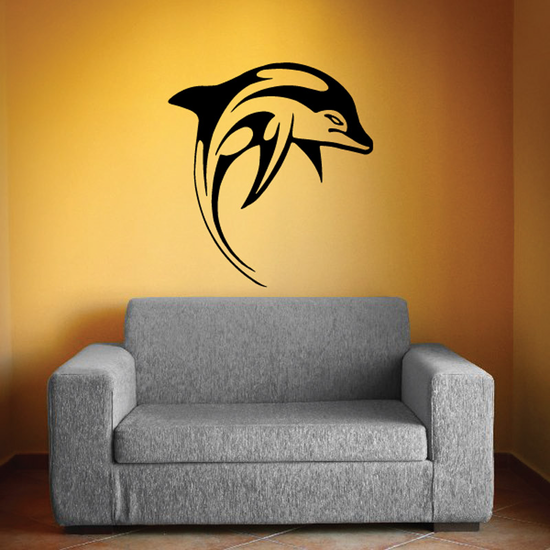 Dolphins Wall Decal - Vinyl Decal - Car Decal - DC006