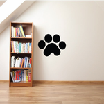 Paw Print Wall Decal - Vinyl Decal - Car Decal - DC013