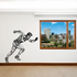 Track And Field Wall Decal - Vinyl Decal - Car Decal - CDS092