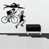 Triathlon Wall Decal - Vinyl Decal - Car Decal - Bl002