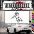 Track and Field Wall Decal - Vinyl Decal - Car Decal - SM018