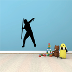 Track And Field Javelin Wall Decal - Vinyl Decal - Car Decal - NS003