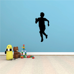Track And Field Runner Wall Decal - Vinyl Decal - Car Decal - NS003