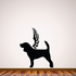 Dog with wings Wall Decal - Vinyl Decal - Car Decal - DC027