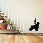 Dog with wings Wall Decal - Vinyl Decal - Car Decal - DC028