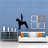 Dog with wings Wall Decal - Vinyl Decal - Car Decal - DC031