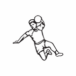 Track And Field Wall Decal - Vinyl Decal - Car Decal - DC 018