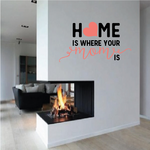 Home Is Where Your Mom Is Printed Die Cut Decal