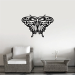 Monarch Butterfly Wall Decal - Vinyl Decal - Car Decal - DC039