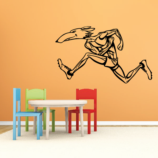 Track And Field Wall Decal - Vinyl Decal - Car Decal - CDS016