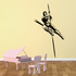 Track And Field Pole Vault Wall Decal - Vinyl Decal - Car Decal - CDS026