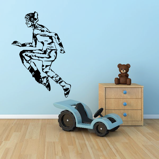 Track And Field Wall Decal - Vinyl Decal - Car Decal - CDS027
