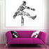 Track And Field Wall Decal - Vinyl Decal - Car Decal - CDS090
