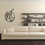 Track and field Wall Decal - Vinyl Decal - Car Decal - Bl032