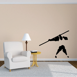 Track and field Wall Decal - Vinyl Decal - Car Decal - Bl047