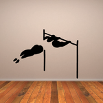 Track and field Wall Decal - Vinyl Decal - Car Decal - Bl048