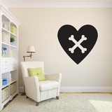 Simple Heart Decals