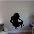Mother and Child Silhouette Decal