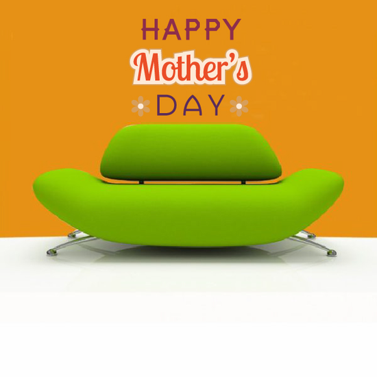 Bright Happy Mothers Day Decal