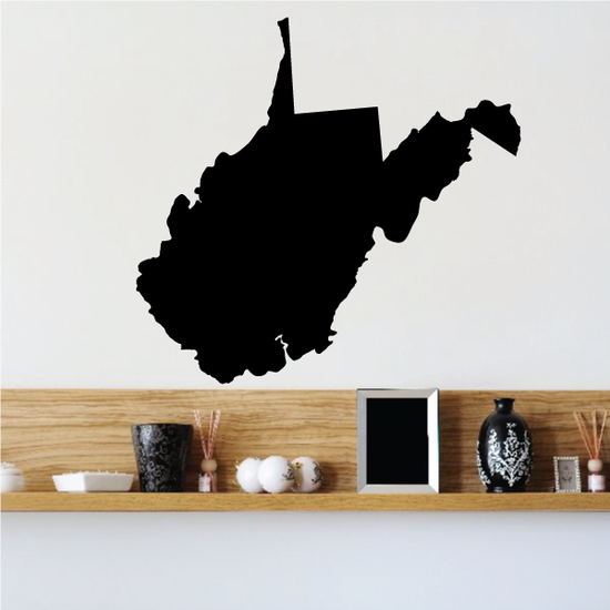 West Virginia State Decal