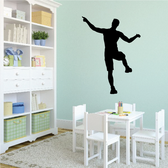 Track and Field Wall Decal - Vinyl Decal - Car Decal - 007