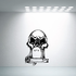 In memory of Skull R.I.P Grave Vinyl Decal Wall Sticker Mural ILMWall Decal - Vinyl Decal - Car Decal - DC002