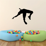 Track and Field Wall Decal - Vinyl Decal - Car Decal - 010
