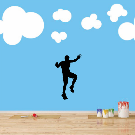 Track and Field Wall Decal - Vinyl Decal - Car Decal - 011