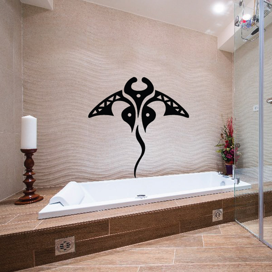 Native Manta Ray Stingray Decal