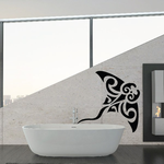 Native Style Stingray Decal