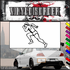 Track and Field Wall Decal - Vinyl Decal - Car Decal - SM005